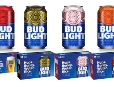Bud Light Fan Cans